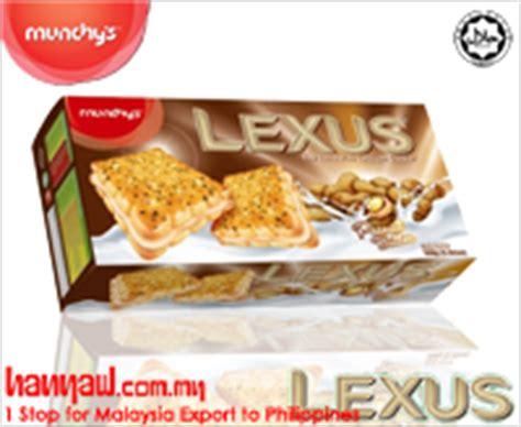 Lexus Chocolate By 8qq Snack munchy s lexus crackers snacks hanyaw malaysia