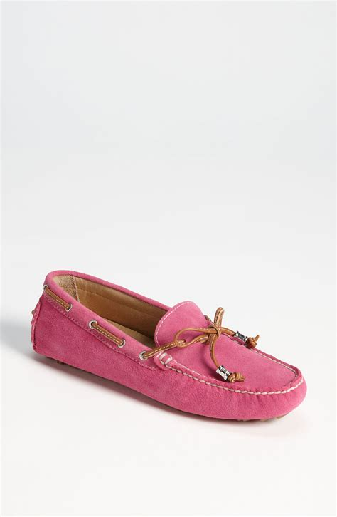 pink loafers ivanka anais loafer in pink pink lyst