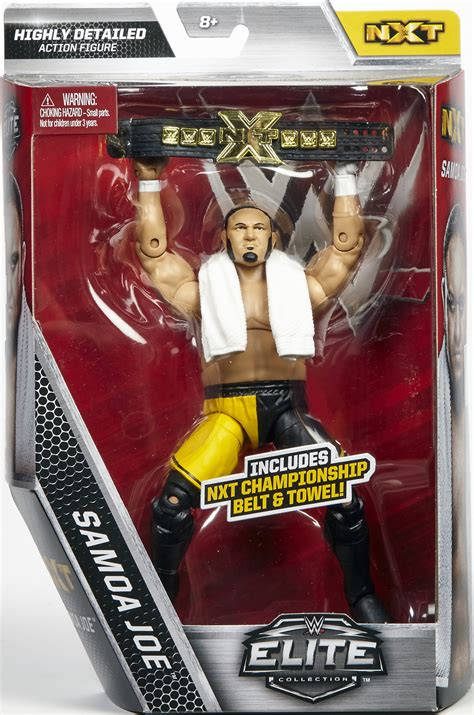 wwe  destroyer samoa joe nxt elite exclusive toy wrestling action figure