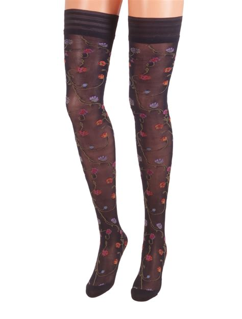Tabs On Tights Calze Trasparenze Delivers Thigh Highs Tights And Knee Highs Second City Style Fashion by Dolci Calze Thigh High