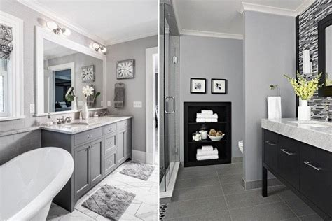 2018 gray bathroom decoration ideas