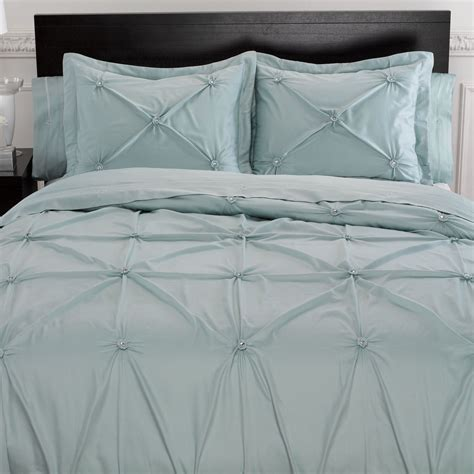 bedding duvet memento puckered aqua mist duvet cover bedding