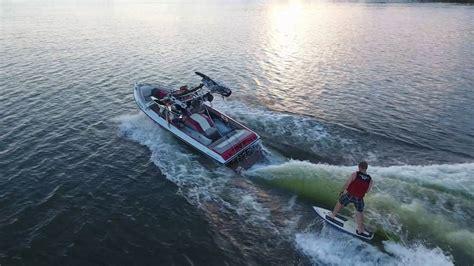 wakesurf jet boat youtube sunsetter surfing with wake logic control system youtube