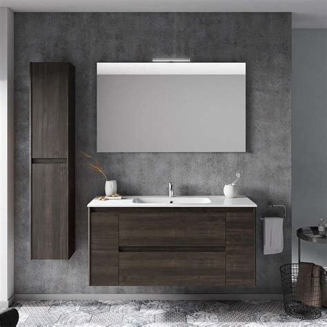 Complete Bathroom Vanity Ws Bath Collections Ambra 120 Complete Bathroom Vanity Unit In Samara Ash Modo Bath