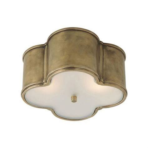 visual comfort basil flush mount visual comfort alexa hton 2 light small basil flush
