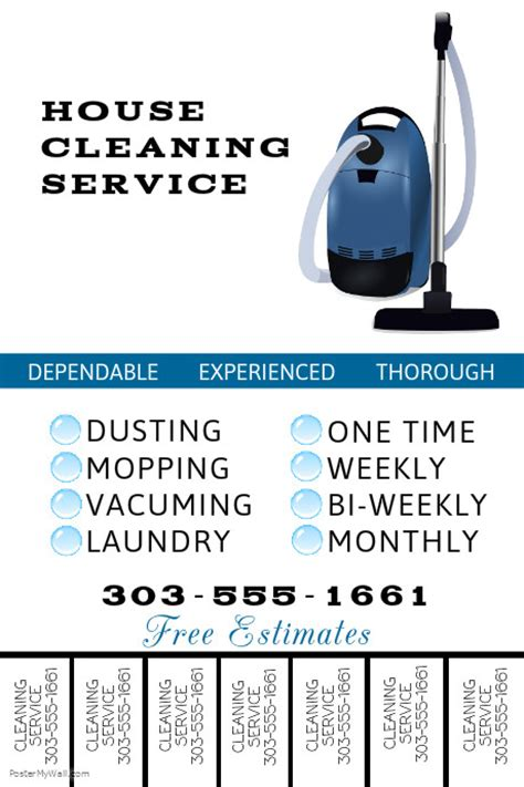 Cleaning Service Template Postermywall Cleaning Services Template Free