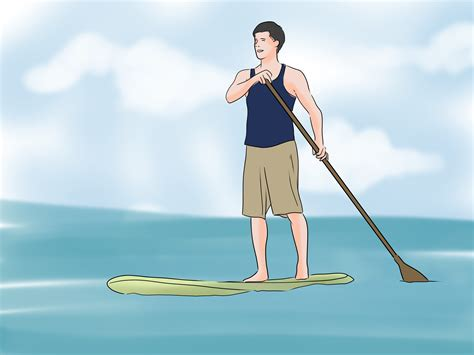 paddle board with how to paddle board 9 steps with pictures wikihow