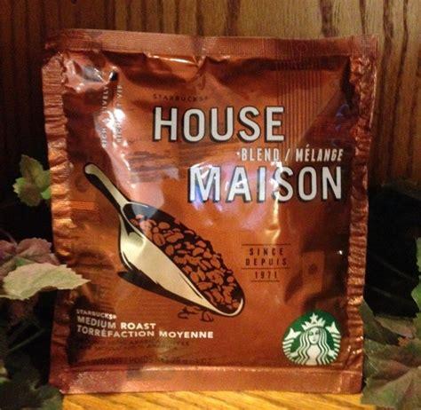 starbucks house blend starbucks house blend coffee filter pack 1 oz 12 packs