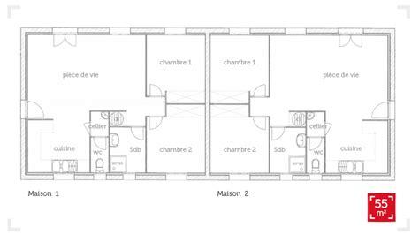 combien de chambre dans un t3 plan appartement 80m2 gratuit