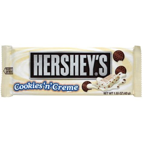 Hersheys Cookies N Creme hershey s bar with cookies n one box 36