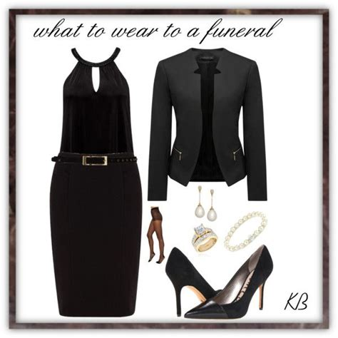 what to wear to a funeral by kathrinkim on