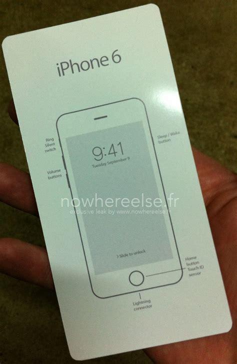 fake iphone  box insert surfaces macrumors