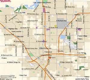 map of fresno california fresno ca maps