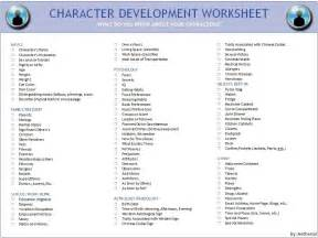 world building template yeah character development aetherial checklist for