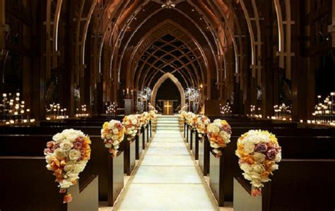 Church Decoration For Wedding by Creative Church Wedding Decorations Easyday