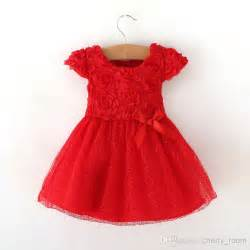 Dress children christmas dress toddler rose floral tulle party dress