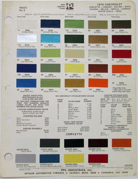 chevy color codes camaro paint colors paint color ideas