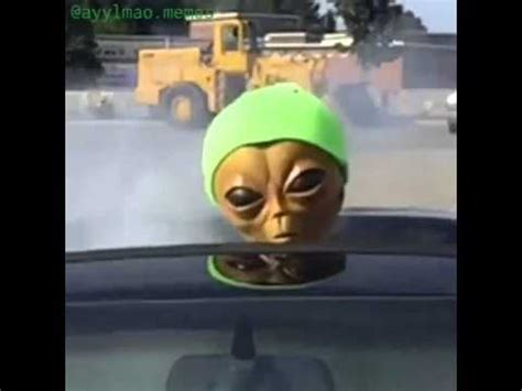 Stoned Alien Meme - lil mayo youtube