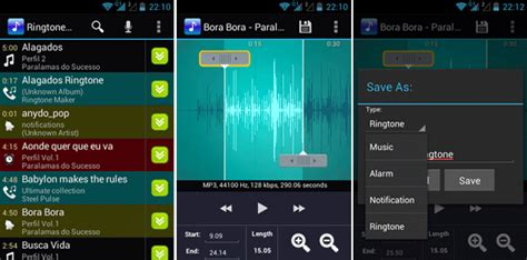 ringtones maker for android phone top 5 aplicativos para criar toques no android