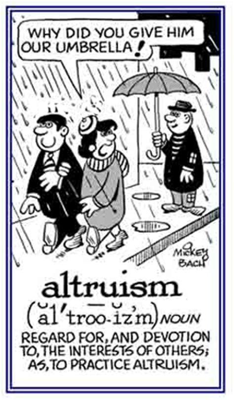 Altruism Equation altruism humanitarianism