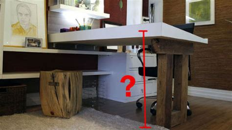 how tall is a desk how to find your ideal desk height