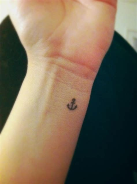 inside wrist tattoo small anchor wrist ink anchor wrist