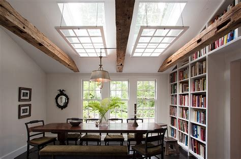 The Skylight Room by 27 Dining Rooms With Skylights That The Show