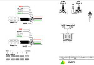 dimarzio 5 way switch wiring diagram dimarzio get free