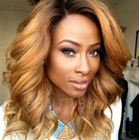 hair color weaves brown blonde pics love her hair color