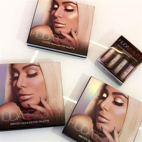 Huda Beauty Giveaway 2017 - huda beauty winter solstice collection 2017 beauty trends and latest makeup