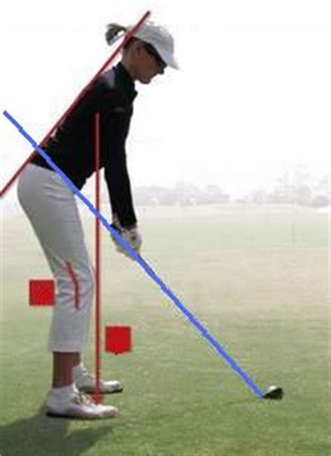 golf swing setup and posture set up address
