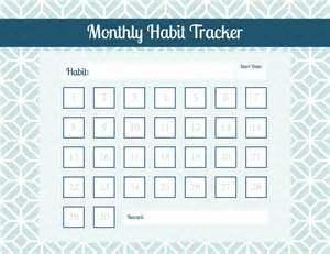 Hanging Nightstand 7 Tips For Forming A New Habit Printable Habit Tracker
