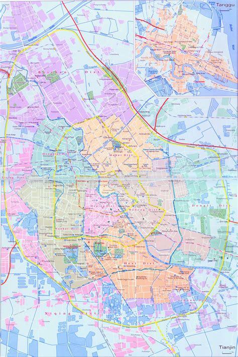 tianjin china map tianjin map tanggu map map of tianjin and tanggu china tianjin tanggu travel map