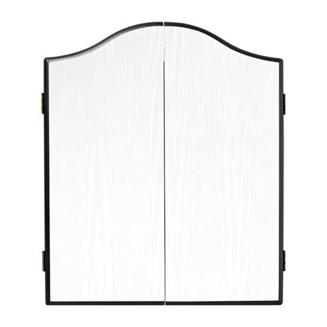White Dartboard Cabinet by Winmau White Dartboard Cabinet