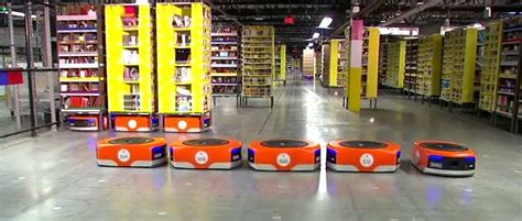 amazon robots  revamp   foods runs warehouses electronic products