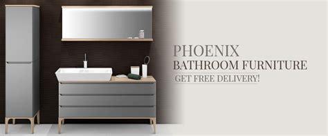 Phoenix Bathroom Furniture And Storage Units   QS Supplies