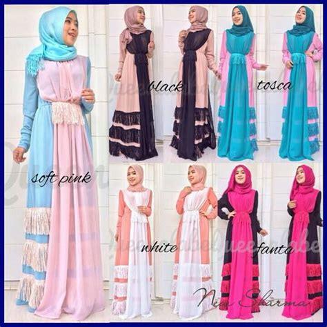 desain baju queen busana muslim koleksi terbaru
