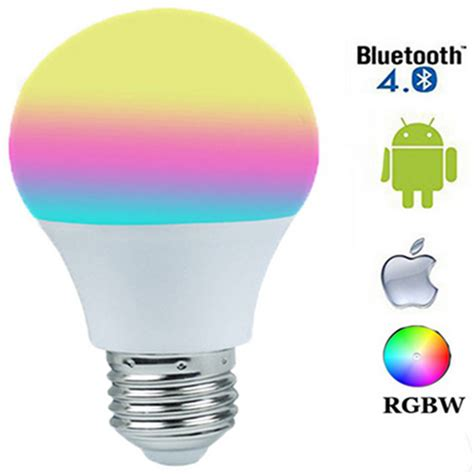 Legend Led Light Bulb Smart Bluetooth Controlled E27 7w For Ios And Android B00k2339fs smartphone app e27 rgbw led light bulb bluetooth 4 0 smart lighting l color change