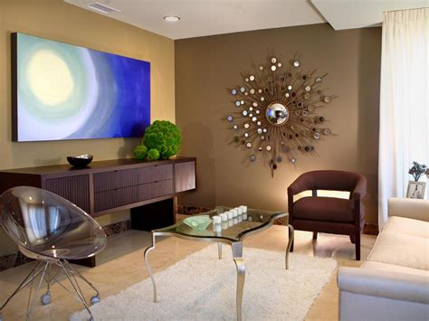 contemporary living room wall decor photo page hgtv