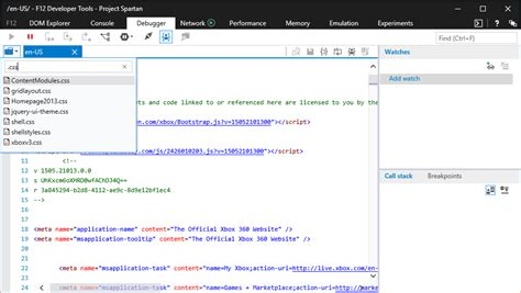 edge 10 developer tools windows announcing the latest improvements for the f12 developer