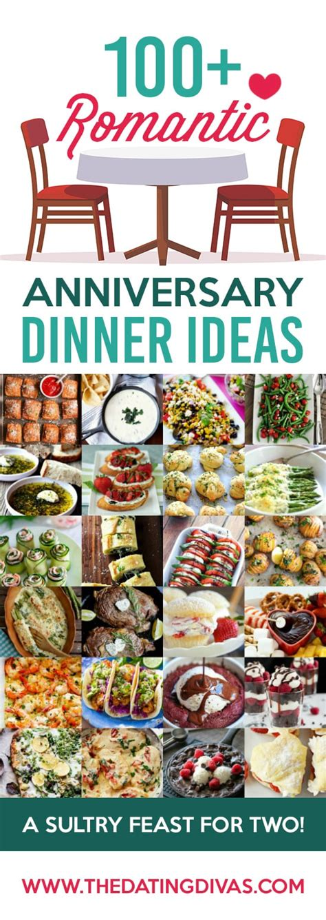 Wedding Anniversary Dinner Ideas anniversary dinner ideas from the dating divas