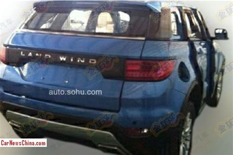 land wind e32 landwind e32 is a blue range rover evoque in china