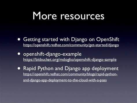 django tutorial deployment django deployment with paas