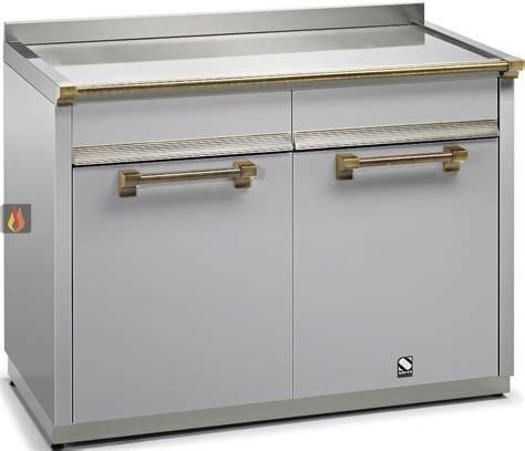 module de cuisine module de cuisine plan de travail inox avec 2 tiroirs et 2