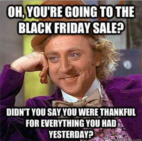 oh you re going to the black friday sale didn t you say