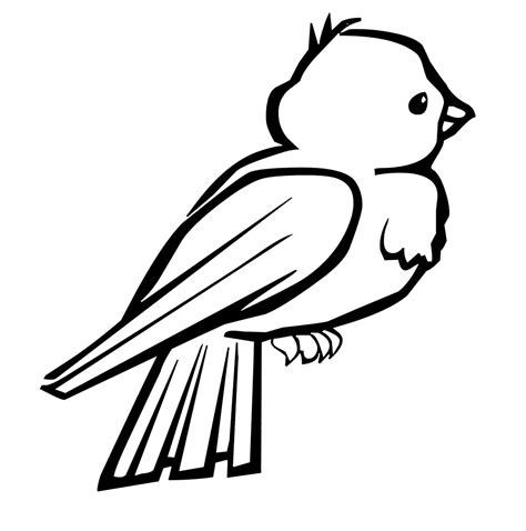 coloring pages of birds to print bird 6 coloring kids