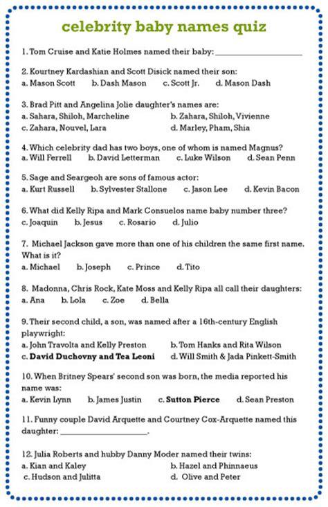 celebrity trivia games online celebrity baby names quiz inspiration made simple