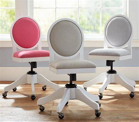 upholstered swivel desk chair foster swivel desk chair pottery barn