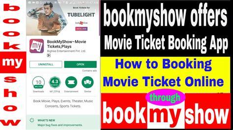 bookmyshow free ticket book my show online movie ticket booking bookmyshow