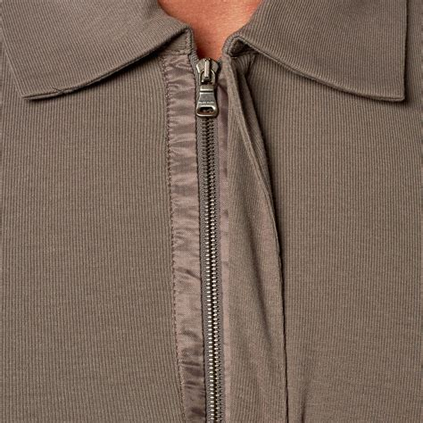 Hugo Zipper D hugo zipper polo grey s hugo touch of